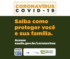 Coronavírus Ministério da Saúde
